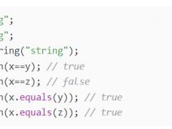 == 和 equals 的区别是什么?